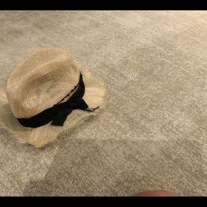 BRUNELLO CUCINELLI STRAW HAT